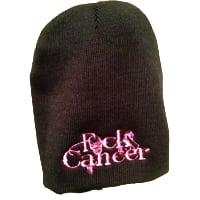 FCK Cancer Toque - Black/Pink