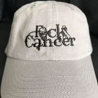 FCK Cancer Baseball Hat - Grey