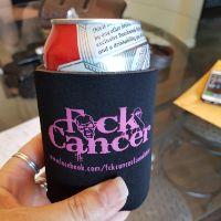 FCK Cancer Koozie