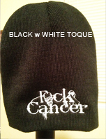 FCK Cancer Toque - Black/White